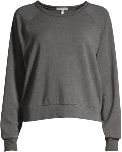 Light Terry Sweatshirt Grey Melange