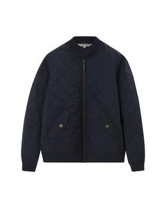 Greta Quilted Jacket Navy Blue
