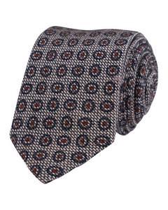 Cotton/silk Tie