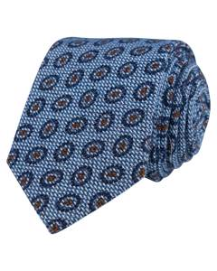Cotton/silk Tie