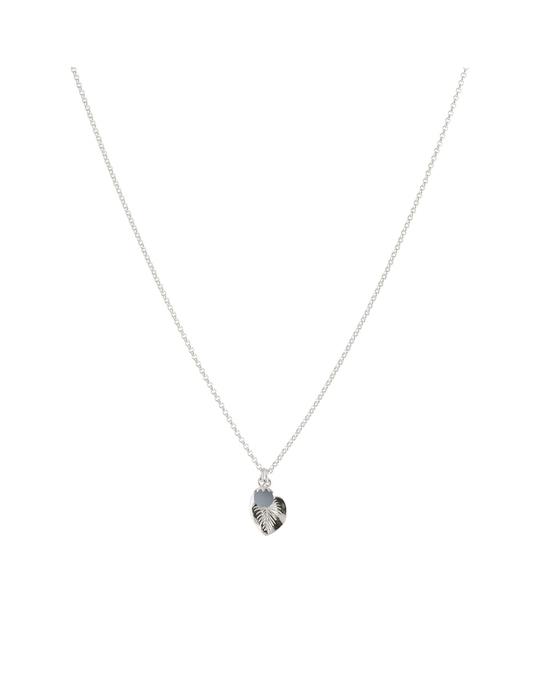 Syster P Botanica Caladium Necklace Silver Angelite