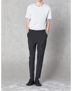 Isaacson Trousers Dark Grey Melange