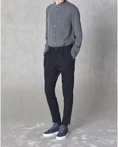 Isaacson Trousers Dark Navy
