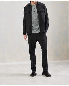Ivan Shirt Dark Grey Melange