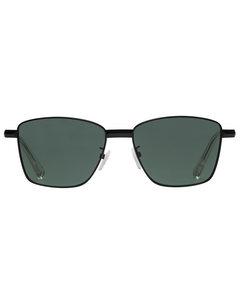 Supastar  Matte Black W/ Green Mono Lens