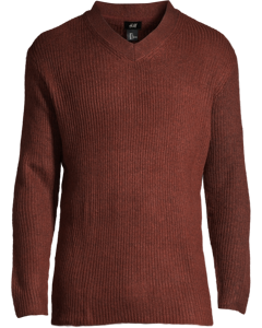 Leeds V-neck Brown