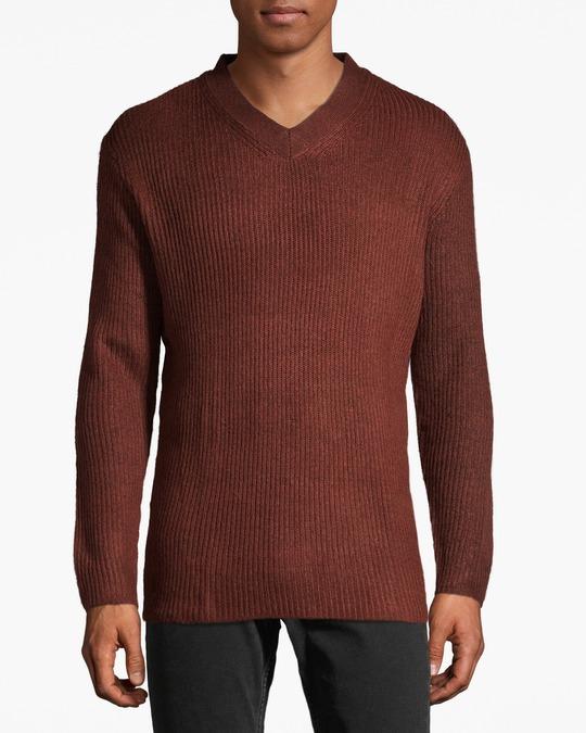 H&M Leeds V-neck Brown