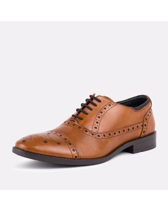 Goodwin Smith Mens Ealing2 Tan Brogue