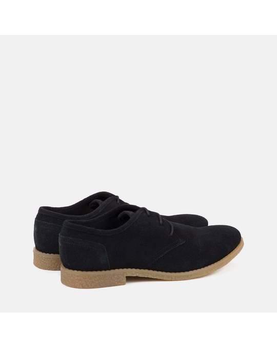 Redfoot Shoes Mens Black Desert Shoe