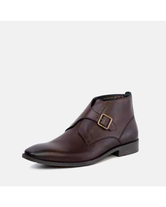 Goodwin Smith Gs Mens Logan Brown Monk Strap Boot