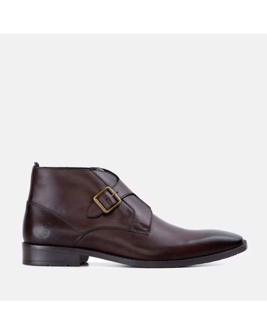 Goodwin Smith Gs Mens Logan Brown Monk Strap Boot