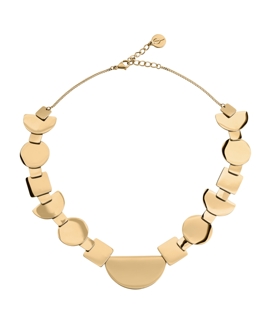 Edblad Shapes Necklace Gold