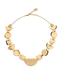 Shapes Halsband Gold