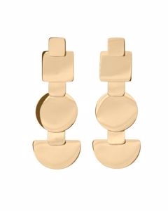 Shapes Earrings Gold