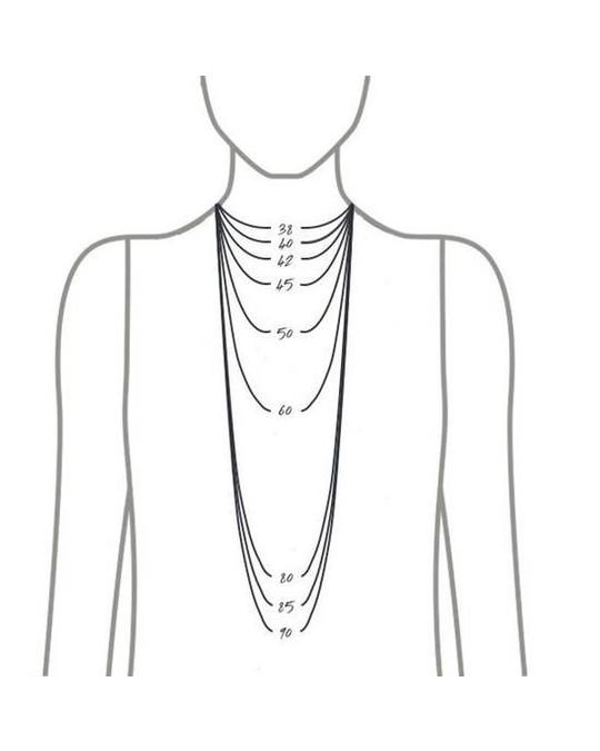 Edblad Shapes Necklace Steel