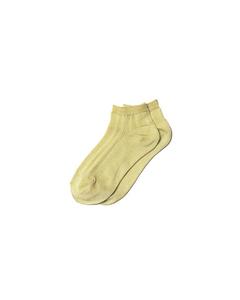 Glitter Dollie Sock Pastel Yellow