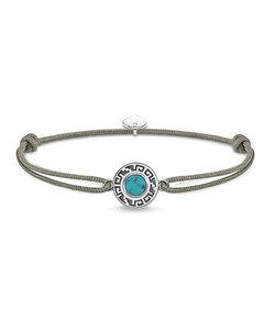 Bracelet Little Secret Ornament Turquoise 925 Sterling Silver, Blackened