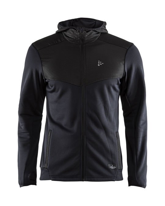Craft Breakaway Jersey Hood Jkt M - Black