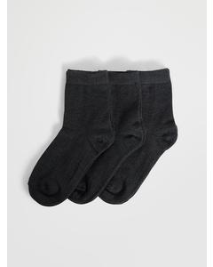 Ankle Sock Kids 3-pack