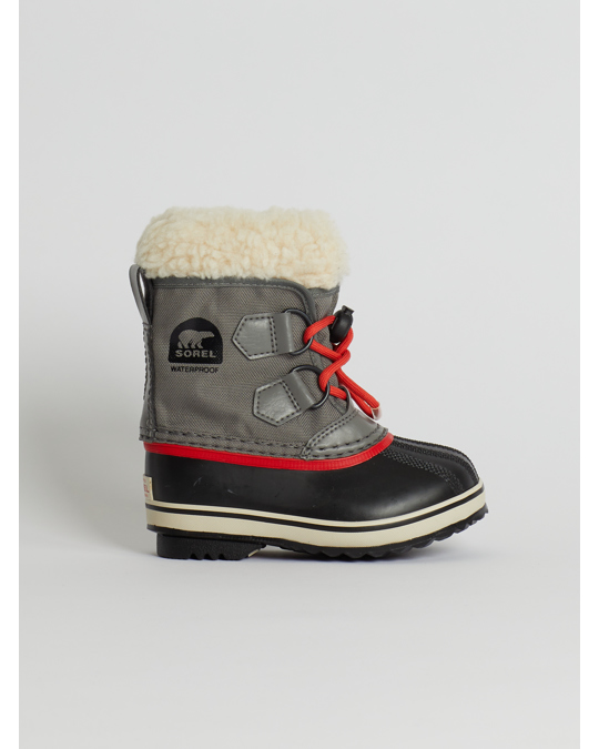 Sorel Childrens Yoot Pac™ Nylon Quarry, Sail Red