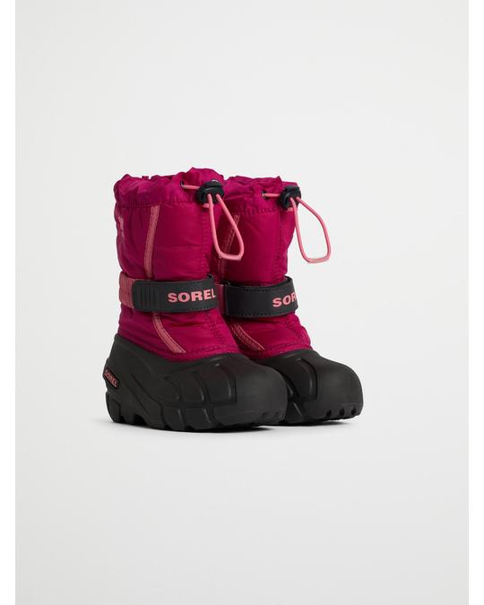 Sorel Childrens Flurry™ Deep Blush, Tropic Pink