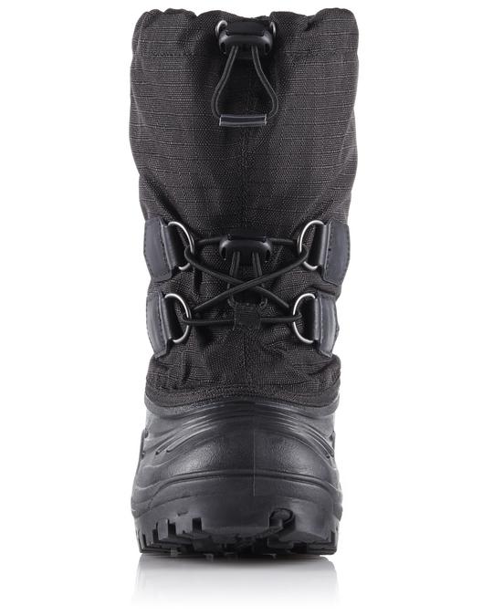 Sorel Youth Super Trooper™ Black, Light Grey