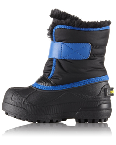 Childrens Snow Commander™ Black, Super Blue