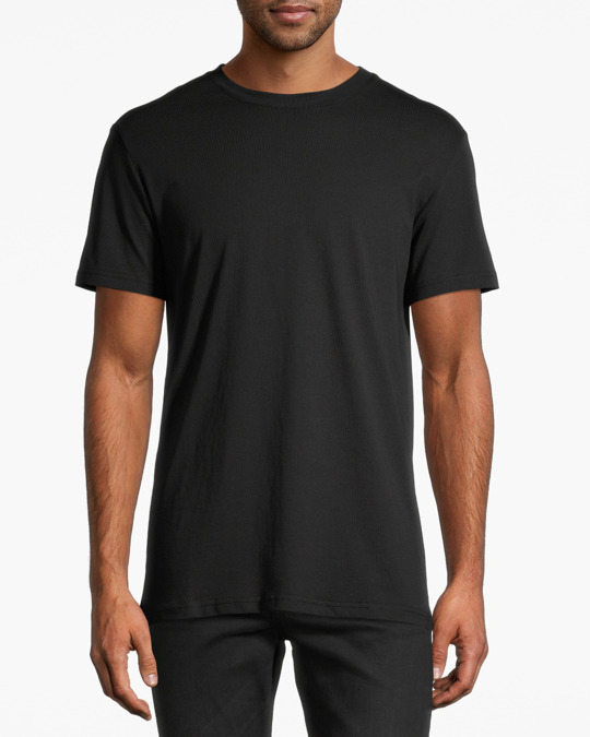 AFOUND OBJECTS Basic Tee Mens Black