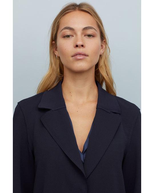 H&M Mantel blau