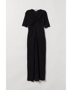 Pe Kitty Jersey Dress Black