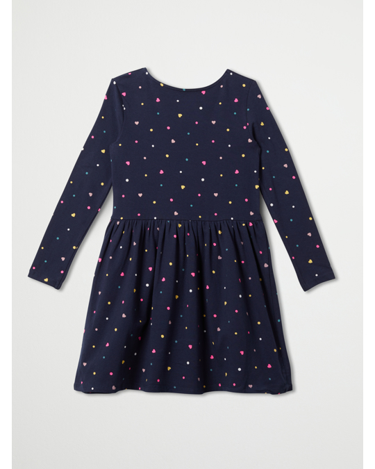 H&M Linnea Long Sleeve Dress Blue