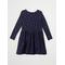 Linnea Long Sleeve Dress Blue