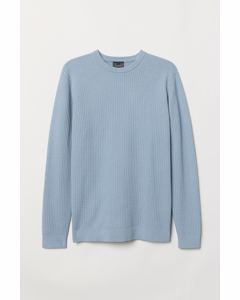 Keller Round Neck Jumper Blue