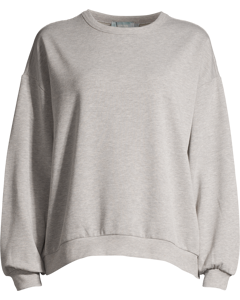Eliie Crewneck Sweater  Grey Melange