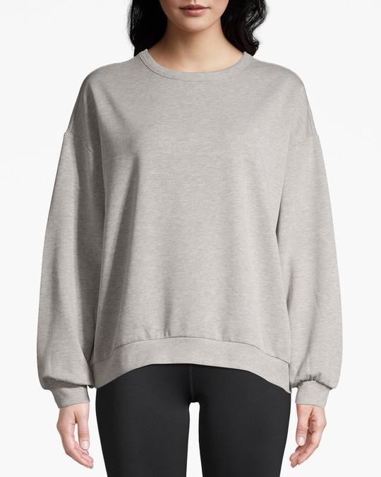AFOUND OBJECTS Eliie Crewneck Sweater  Grey Melange