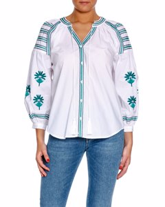 By Malina Blouse Riley Agave