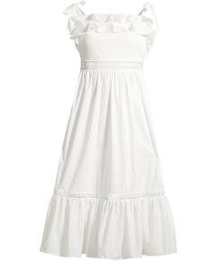 Jeanni Dress White