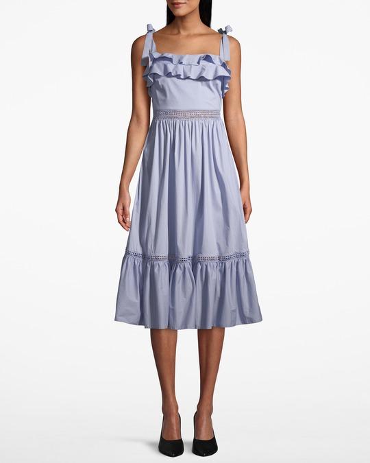 By Malina Jeanni Dress Coastal Blue