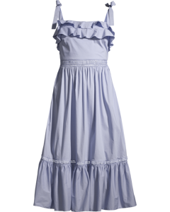 Jeanni Dress Coastal Blue