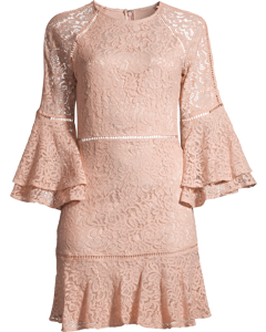 Ettie Mini Dress Dusty Pink