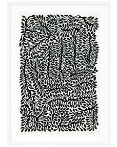 Poppy Pattern 50x70