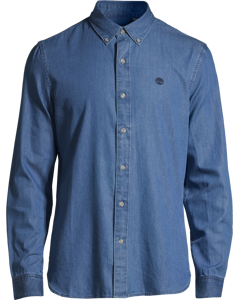 Ls Classic Chambray Shirt Light Wash