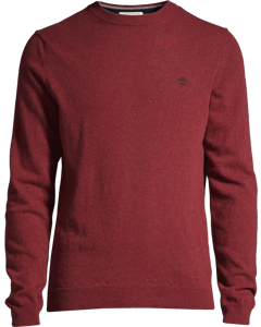 Crew Neck Sweater Pomegranate