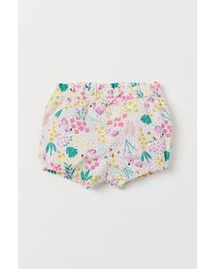 Malou Shorts White