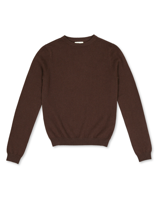 People's Republic of Cashmere Women's Roundneck Grizzly