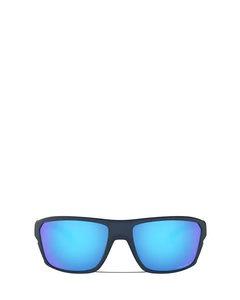Oo9416 Matte Trans Blue Solglasögon