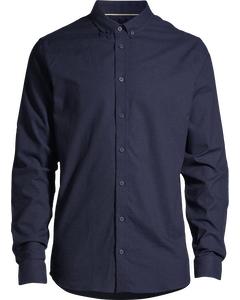 Pierre Shirt L/s Dk Navy
