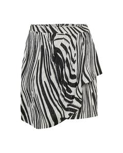 Siwra Skirt So19 Zebra Aop