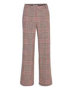Sari Pants So19 Tan Check