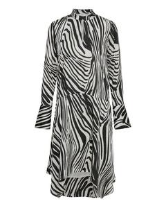 Siwra Dress So19 Zebra Aop